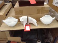 3 piece ceramic d̩cor