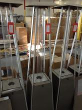 Outdoor Gas Flame Heater Model # FH-1000SQ, 26000BTU/H (Missing Grid Cage)