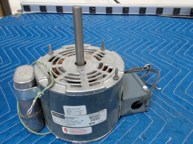 Fasco Electric Motor Model D890 By Nellis Auction