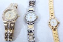 3 Woman's Watches
