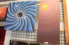 (2) 1980's Abstract Paintings