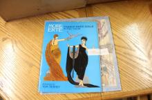 2 Erte Fashion Paper Dolls in Full Color &