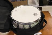 Ludwig Pearl Colored Snare Drum w/ Case