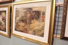 Framed Woman Print
