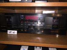 TEAC Double Cassette Deck
