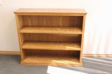 Oak Book Shelf