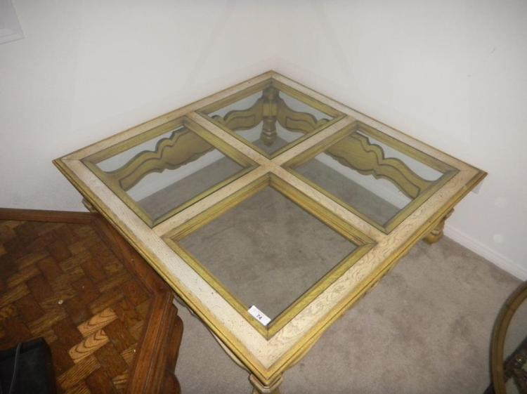 48 X 48 X 16 Square Coffee Table