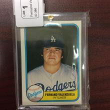 #396 - Baseball Card Auction - $2 Start, $1 Increments