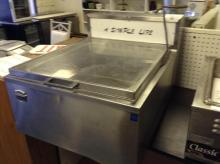 (1) Silver King Stainless Steel Table Top Freezer