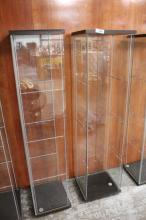 (2) Display Cases