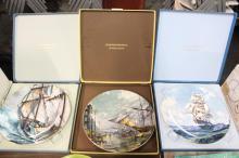 3 Royal Doulton Collector Plates