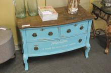 Painted & Stained Shabby Chic Small Dresser