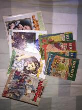 Big boy and national lampoon collectible magazines