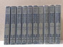 THE BEST OF THE WORLD'S CLASSICS - 1909 TEN VOLUME SET - HENRY CABOT LODGE