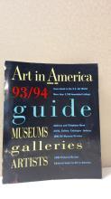 ART IN AMERICA 93/94 GUIDE - SOFTCOVER