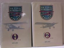 US CIVIL AIR SERIES-OLS. 1&2 COMPLETE - HC/DJ - ILLUSTRATED