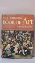 THE RAINBOW BOOK OF ART - Thomas Craven HC/DJ - ILLUSTRATED - VINTAGE 1956