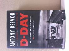 D-DAY, THE BATTLE FOR NORMANDY, Antony Beevor, HC/DJ, 2009 #1Bestseller,592pp.