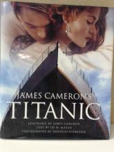 JAMES CAMERON'S TITANIC - HARDCOVER FIRST EDITION
