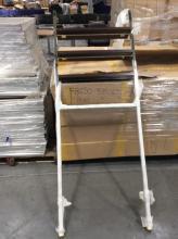 3 Shelf Bath Etagere with Chrome Frame