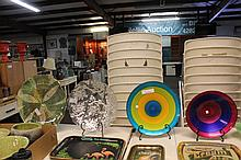 5- Decorative Plates and Bowls w/Stands