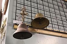 2 Decorative Antique Bells