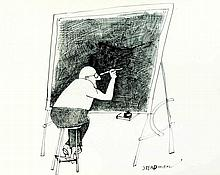Ralph Steadman  - Autoritratto