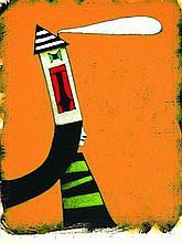 Marco Cazzato  - Illustrazione originale per manifesto