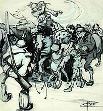 Carlo Bisi  - Un'altra gloriosa pagina della Kulture: le deportazioni dal Belgio