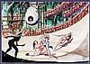 MILO MANARA Barbarella e il combattimento nell'arena