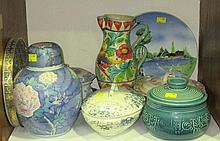 A collection of 20th Century tableware, including