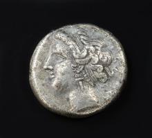 Ancient Greek Coin: Campania Neapolis