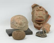 Collection of estate artifacts