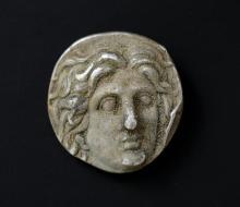Ancient Greek Coin: Rhodes, Caria