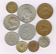 Lot of Mexico Currency Pesos Centavos