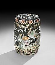 Chinese Export Porcelain Garden Seat