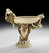 Impressive Royal Dux Art Nouveau Centerpiece