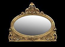 American Renaissance Revival Mantel Mirror