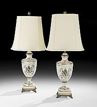 Pair of Chinese Export-Style Table Lamps