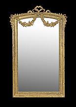 Belle Epoque-Style Giltwood Mirror