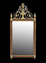 English Parcel-Gilt Mirror