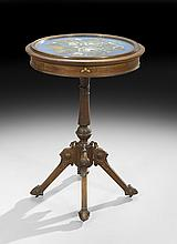 American Renaissance Revival Occasional Table