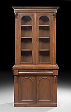 William IV-Style Mahogany Bookcase