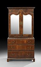 Queen Anne Walnut Cabinet-on-Chest