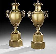 Pair of French Neoclassical-Style Table Lamps