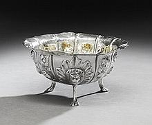 George III Irish Sterling Silver Sugar Basin
