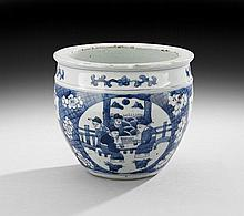 Chinese Blue and White Cachepot