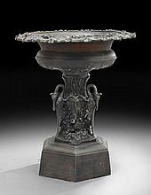 Cast Iron Self-Contained Fountain with Swans