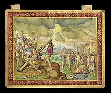 Franco-Italian Miniature Painting on Vellum