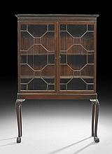George III Mahogany Cabinet-on-Stand
